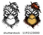 The Demon's Rooster Vector...