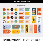 set of planners and to do lists ... | Shutterstock .eps vector #1192128400