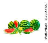 fresh  nutritious and tasty... | Shutterstock .eps vector #1192156423
