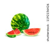 fresh  nutritious and tasty... | Shutterstock .eps vector #1192156426