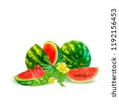 fresh  nutritious and tasty... | Shutterstock .eps vector #1192156453