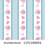 flowers pattern.for textile ... | Shutterstock . vector #1192188856