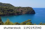 mediterranean forest sea coast  | Shutterstock . vector #1192192540