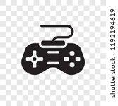 game controller vector icon... | Shutterstock .eps vector #1192194619