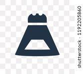 salt shaker vector icon... | Shutterstock .eps vector #1192205860