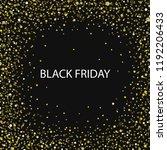 black friday background banner... | Shutterstock .eps vector #1192206433