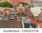 old ailing roofs   Shutterstock . vector #1192211716