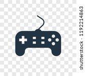 game controller vector icon... | Shutterstock .eps vector #1192214863