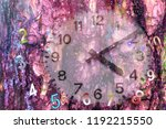 force of time and ancient... | Shutterstock . vector #1192215550