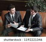 close up. the company's... | Shutterstock . vector #1192221346