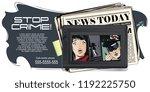 stock illustration. people in... | Shutterstock .eps vector #1192225750