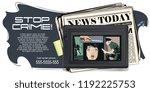 stock illustration. people in... | Shutterstock .eps vector #1192225753