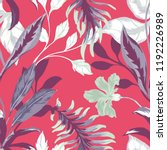 beautiful seamless floral... | Shutterstock .eps vector #1192226989