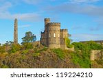 governor house on calton hill... | Shutterstock . vector #119224210