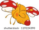 ladybird from a fairy tale.... | Shutterstock .eps vector #119224390