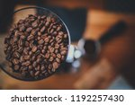 good morning starts with fresh... | Shutterstock . vector #1192257430