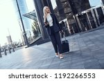 full length portrait of a... | Shutterstock . vector #1192266553