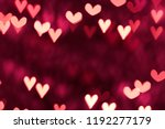 Stock photo hearts as background valentines day concept 1192277179