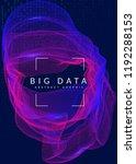 big data background. technology ...   Shutterstock .eps vector #1192288153