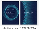 deep learning background.... | Shutterstock .eps vector #1192288246