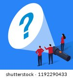 a group of businessmen found... | Shutterstock .eps vector #1192290433