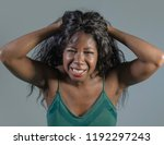 young crazy desperate and...   Shutterstock . vector #1192297243