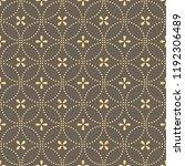 flower geometric pattern.... | Shutterstock .eps vector #1192306489