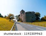 beautiful architecture at vaduz ... | Shutterstock . vector #1192309963