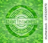 client testimonials green... | Shutterstock .eps vector #1192320970