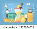 money investment concept.... | Shutterstock .eps vector #1192324090