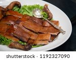 fried pan  thai folk food. | Shutterstock . vector #1192327090