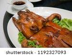 fried pan  thai folk food. | Shutterstock . vector #1192327093