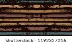 brown paint stripe seamless... | Shutterstock .eps vector #1192327216