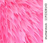pink synthetic fur vector... | Shutterstock .eps vector #1192328143