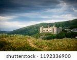 A View Of Harlech Castle  Built ...