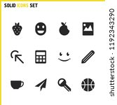 mixed icons set with basketball ... | Shutterstock .eps vector #1192343290