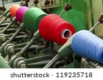industrial textile factory ... | Shutterstock . vector #119235718