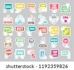 hands holding messages. hand... | Shutterstock .eps vector #1192359826