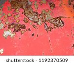 abstract old rusty metal... | Shutterstock . vector #1192370509