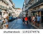 lisbon  portugal   sept 28 ... | Shutterstock . vector #1192374976