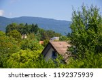 house in the mountains   Shutterstock . vector #1192375939