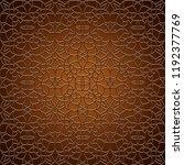 vintage gold ornamental...   Shutterstock .eps vector #1192377769