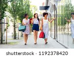 sale  consumerism and people... | Shutterstock . vector #1192378420