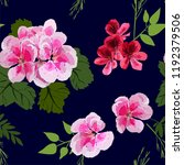 floral seamless pattern with... | Shutterstock .eps vector #1192379506