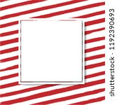 sale banner with red background ... | Shutterstock . vector #1192390693