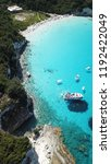 aerial photo of tropical exotic ...   Shutterstock . vector #1192422049
