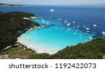 aerial photo of tropical exotic ... | Shutterstock . vector #1192422073