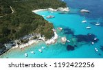 aerial photo of tropical exotic ... | Shutterstock . vector #1192422256