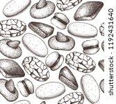 italian desserts seamless... | Shutterstock .eps vector #1192431640