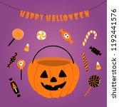 hand drawn vector illustration... | Shutterstock .eps vector #1192441576